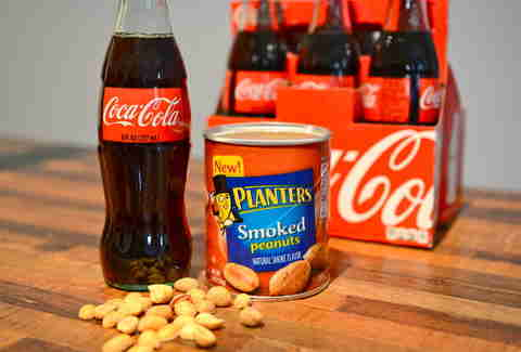 peanuts and Coke