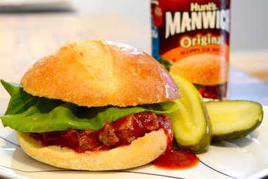 Manwich sandwich