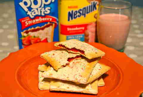 Pop-Tarts and Nesquik