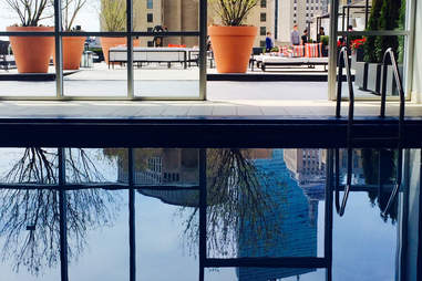 The Revere pool and patio
