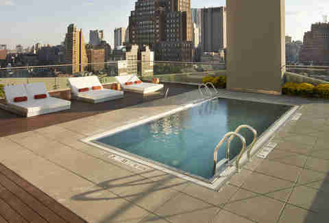 The James Hotel Pool