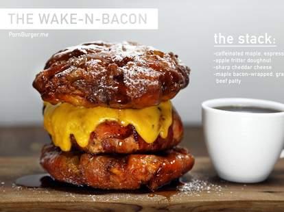 Wake-N-Bacon Burger