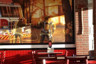 Firehouse Subs mural