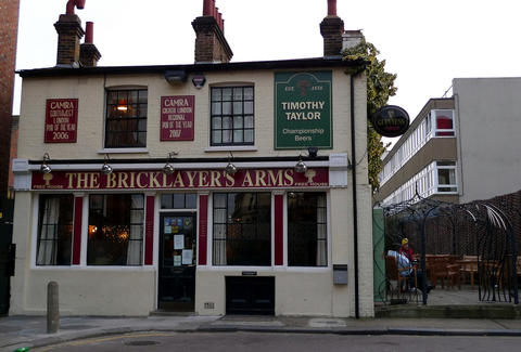 The Bricklayer's Arms London