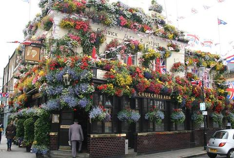 The Churchill Arms London