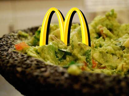 McDonald's guacamole