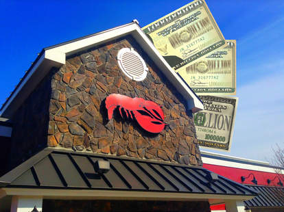 red lobster sold