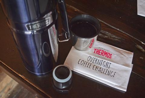 Thermos overnight coffee challenge