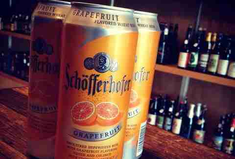 Schöfferhofer Grapefruit Hefeweizen Summer Beer Picks BOS