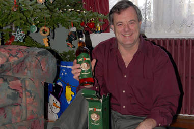 dad with whiskey