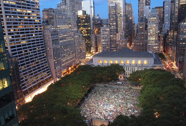 Every Summer outdoor movie screening in NYC, now in one calendar