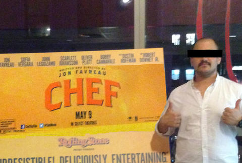 reviewing chef