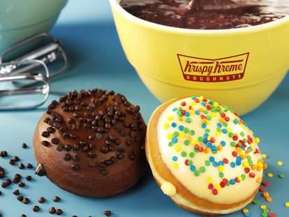 Krispy Kreme cake batter donuts