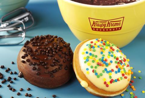 Krispy Kreme Cake and Brownie Batter Donuts Get Limited Run Thrillist