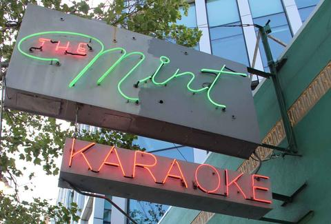 The Mint Karaoke Lounge SF