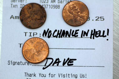 dave check bad tip