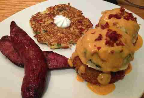 South Congress Cafe Best Brunch Dishes ATX