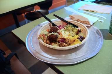 meal at Garbanzo