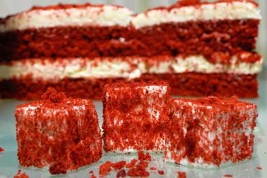 Red velvet marshmallow