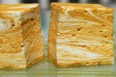 Salted caramel blondie marshmallow
