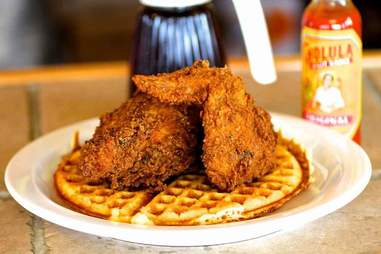 Chicken and Waffles Return of Thrillist Hamptons