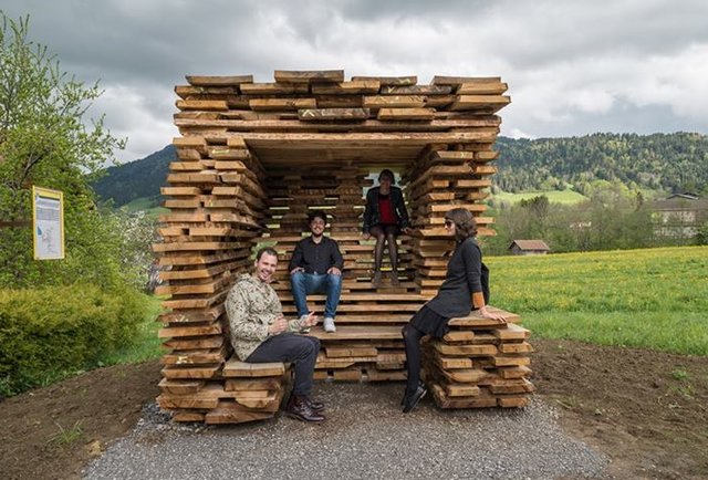 These are the coolest bus stops ever