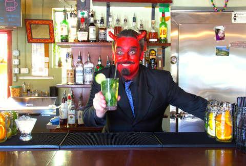 London barman gets caught