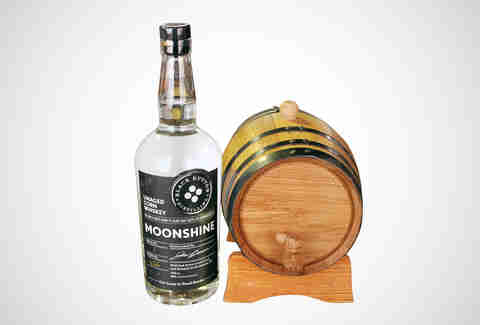 Black Button Barrel Aging Kit + Corn Whiskey