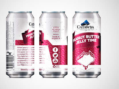 Catawba Peanut Butter Jelly Time cans