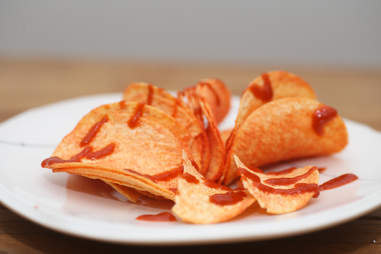 sriracha chips