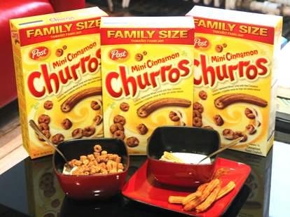churros and churros cereal