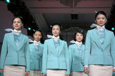 flight attendants