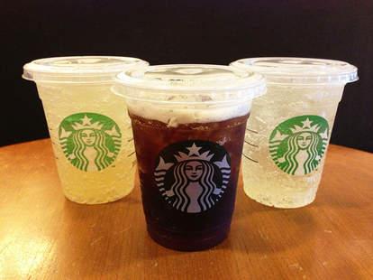 Starbucks sodas
