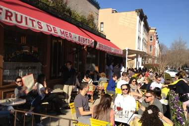 Le Diplomate Outdoor Dining Guide DC
