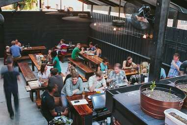 Chez Billy Outdoor Dining Guide DC