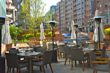 Blue Duck Tavern Outdoor Dining Guide DC