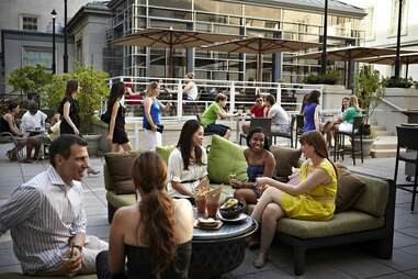 Poste Outdoor Dining Guide DC