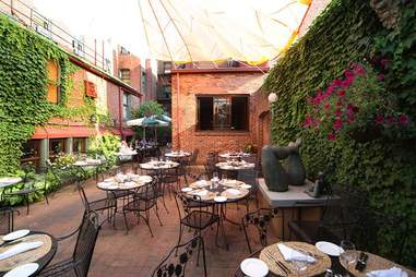 Tabard Inn Outdoor Dining Guide DC