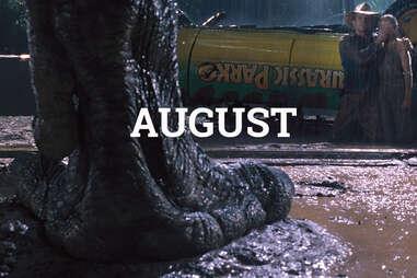 Jurassic Park August
