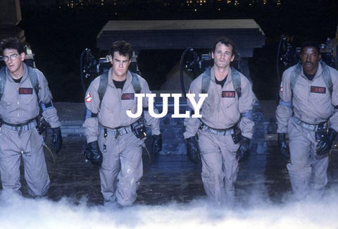 Ghostbusters July