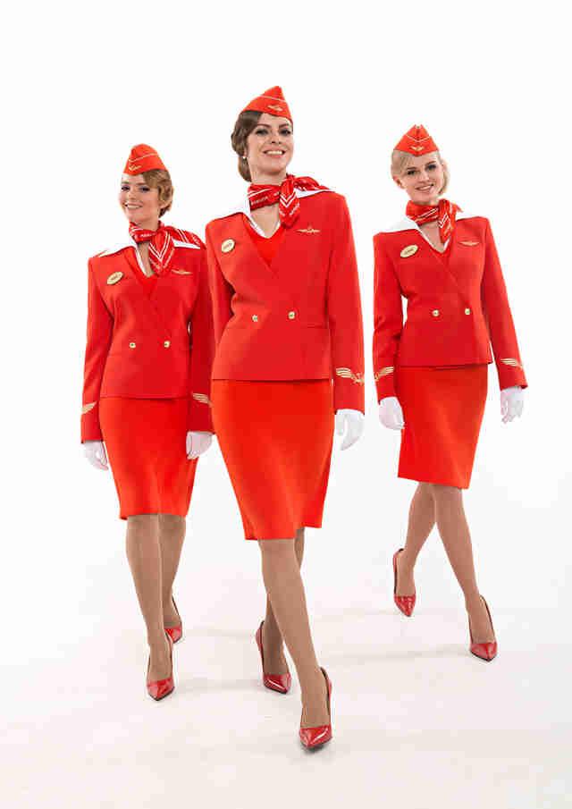Red dress hit the floor uniforms