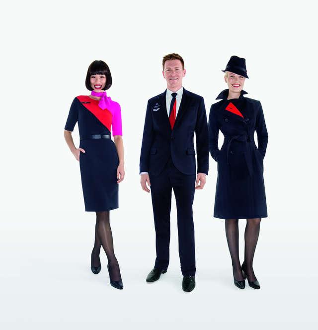 Flight Attendant Uniforms That Make Fashion Statements