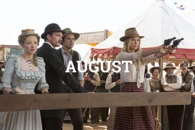 A Million Ways to Die in the West August