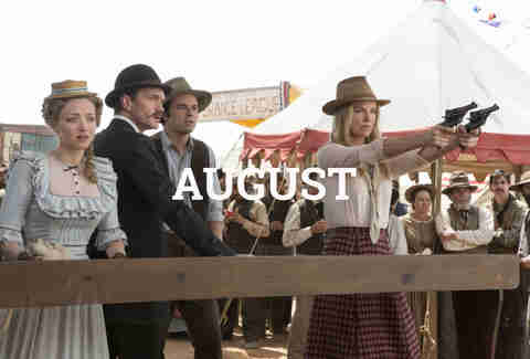 A Million Ways to Die in the West August