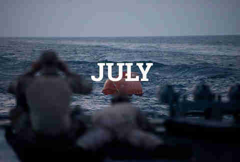 JULY Captain Phillips