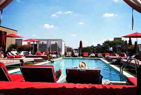 Penthouse Pool & Lounge Best Pools DC PB