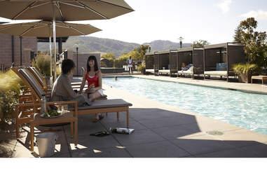 The Bardessono pool