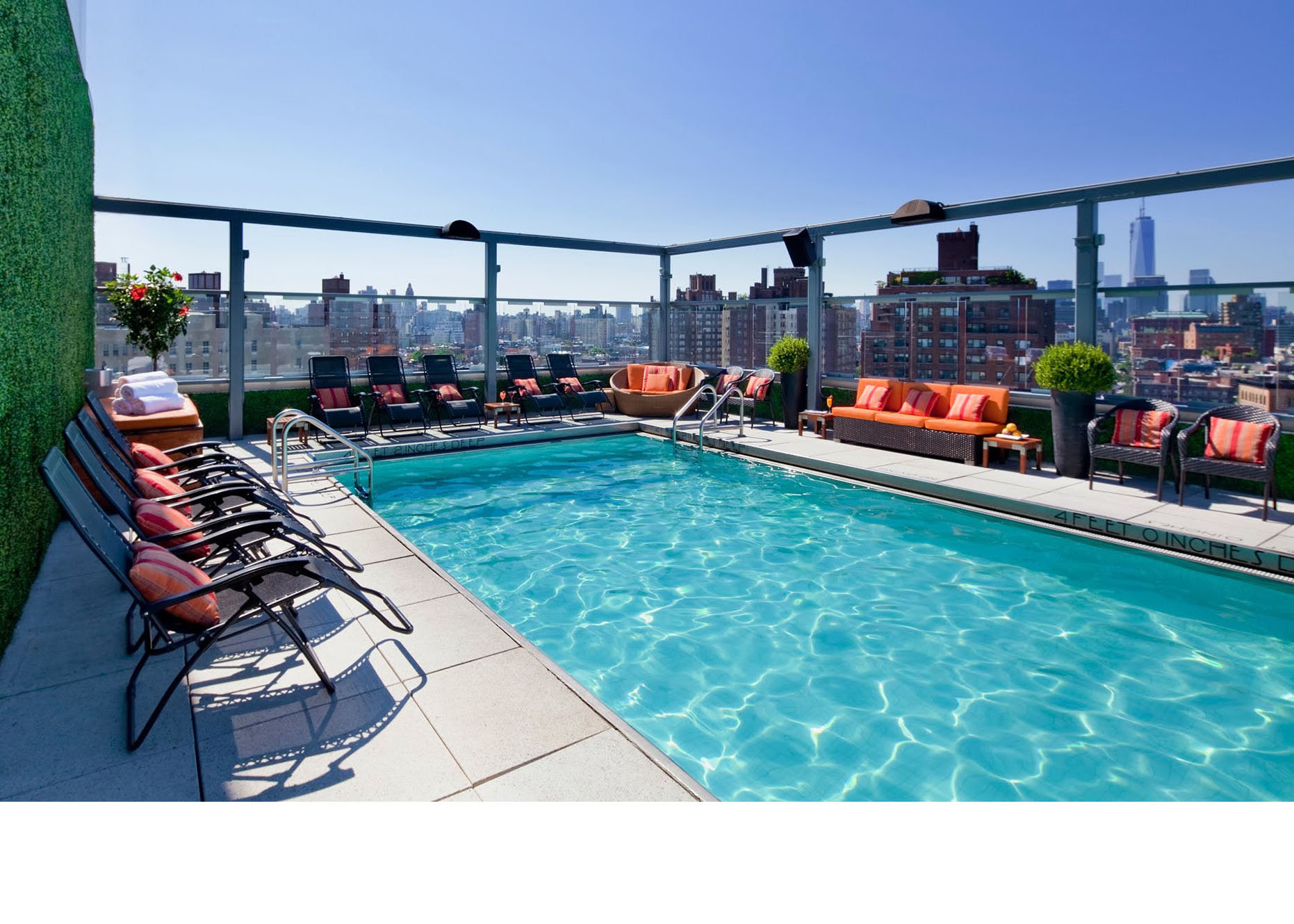Rooftop Pools The Best Rooftop Swimming Pools In America