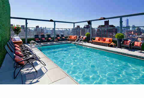 The Gansevoort Meatpacking pool