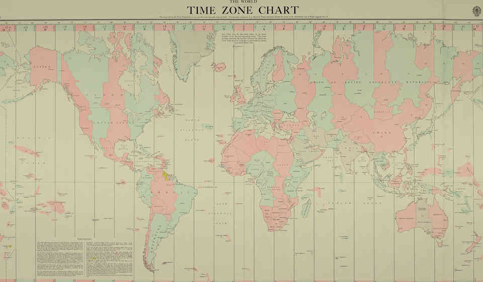 World Time Zones - Insane Facts You Didn't Know About Time